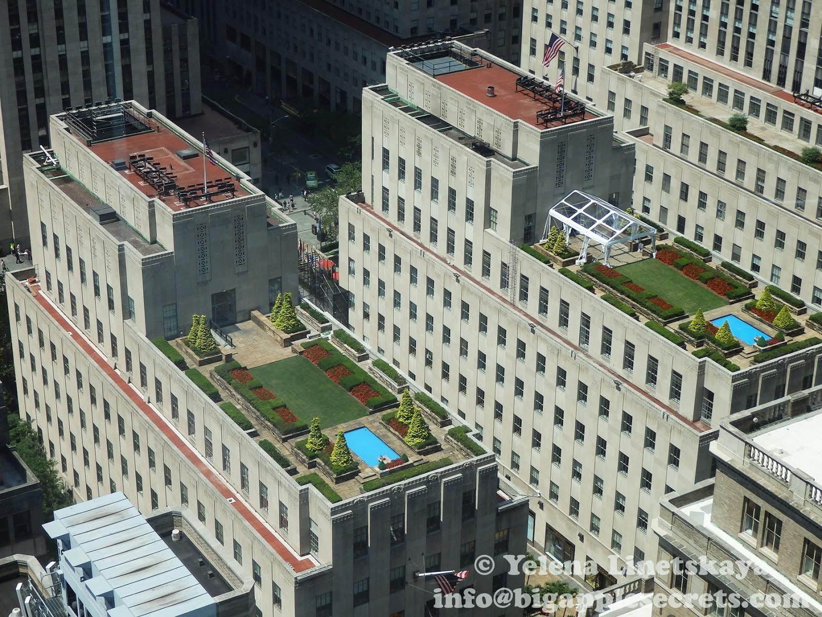 Big Apple Secrets Rockefeller Center Roof Top Gardens