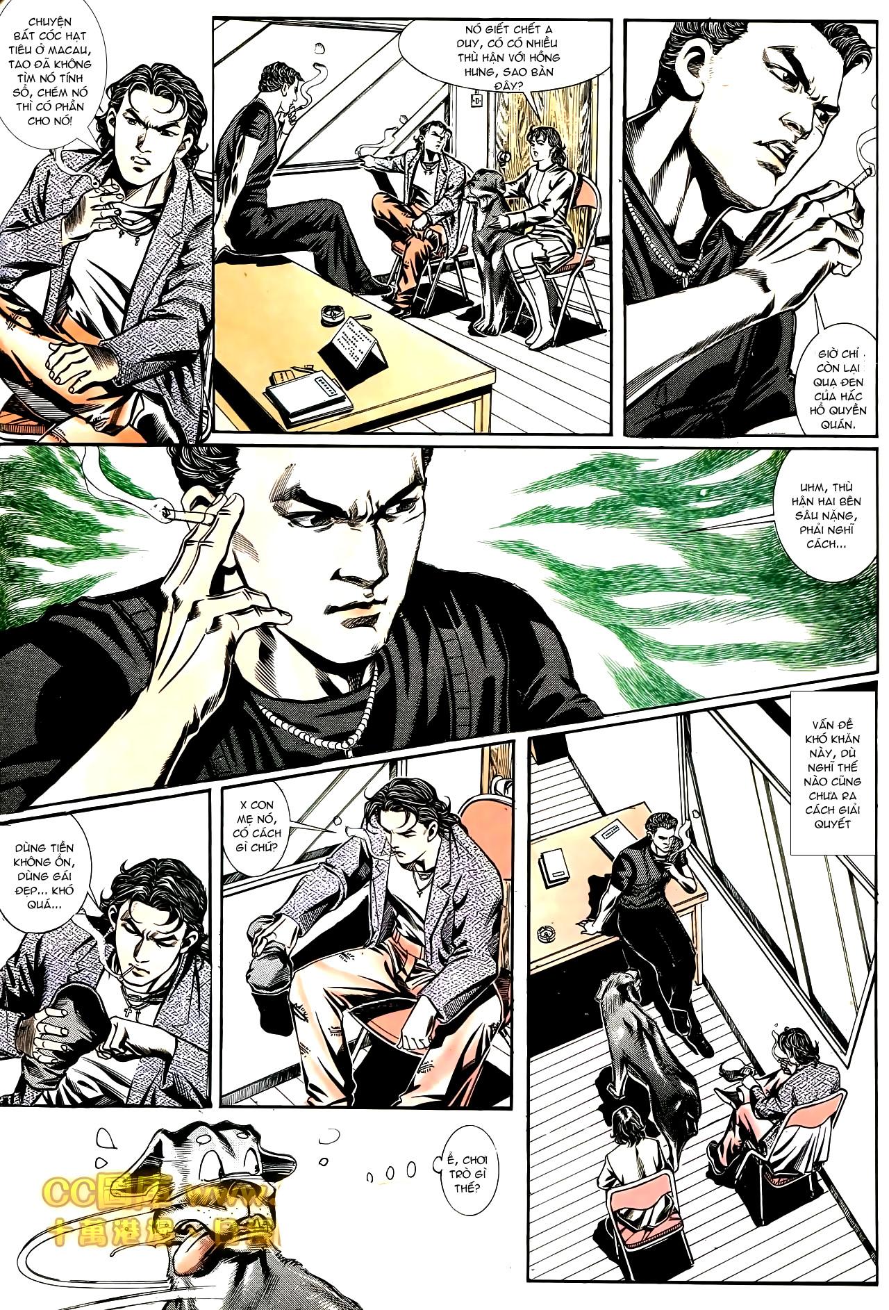 Người Trong Giang Hồ chapter 187: huynh đệ tình trang 9