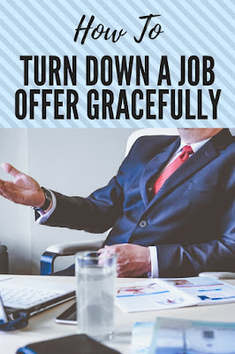 How To Turn Down a Job Offer Gracefully