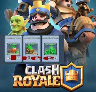 Apa hal pertama yang sobat pikirkan ketika mendengar ada orang yang memiliki ribuan gems  3 Cara Mendapatkan Gems Clash Royale Secara Gratis
