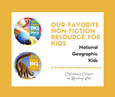 Our Favorite Non-Fiction Source for Kids... National Geographic Kids  a Children's Corner feature on Reading List