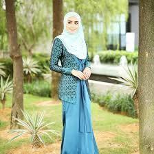 Model Baju Batik buat Kerja Muslimah Modern Terbaru