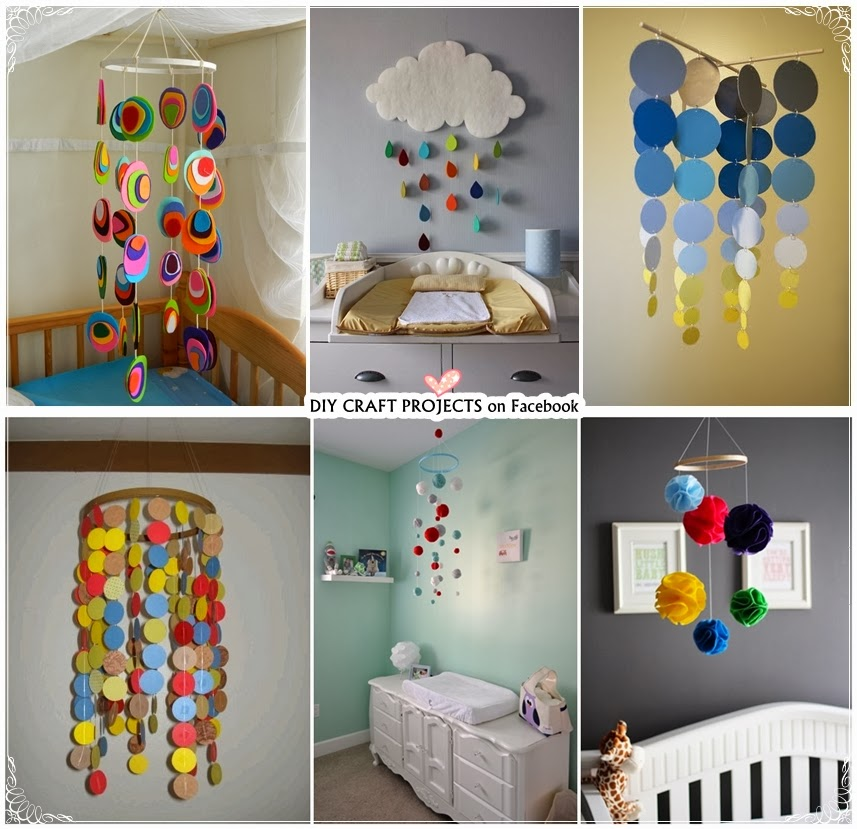 6 Homemade Baby Crib Mobiles Diy Craft Projects