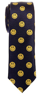 Happy Smiley Face Emoticon Tie