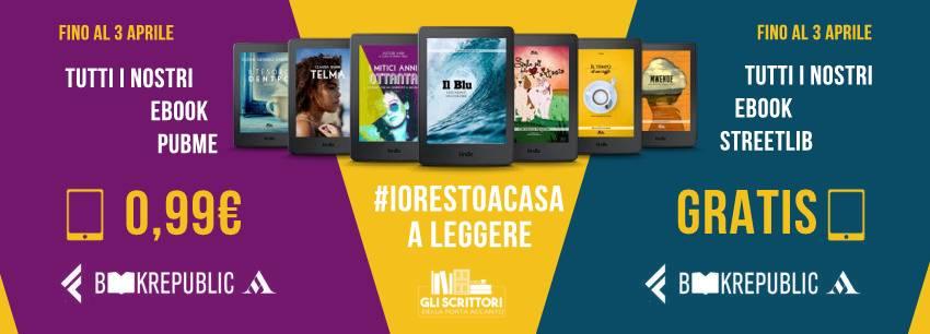 Promozione #iorestoacasa fino al 3 aprile