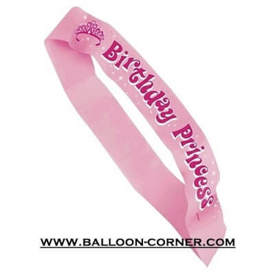 Selempang BIRTHDAY PRINCESS / Sash BIRTHDAY PRINCESS (NEW)