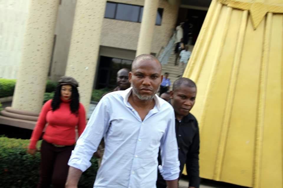 Nigeria will head into another civil war if Buhari kills Nnamdi Kanu - IPOB