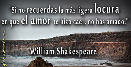 Frases de amor - William Shakespeare