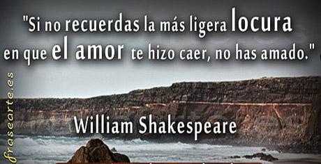 Frases de amor – William Shakespeare