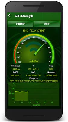 تطبيق Wifi Analyzer للتّحكّم الكامل في شبكات الواي فاي: قطع النت، قياس الشبكة...