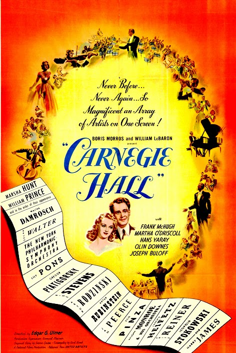 Carnegie Hall ( 1947 ) V.O.S.E Descargar y ver Online Gratis