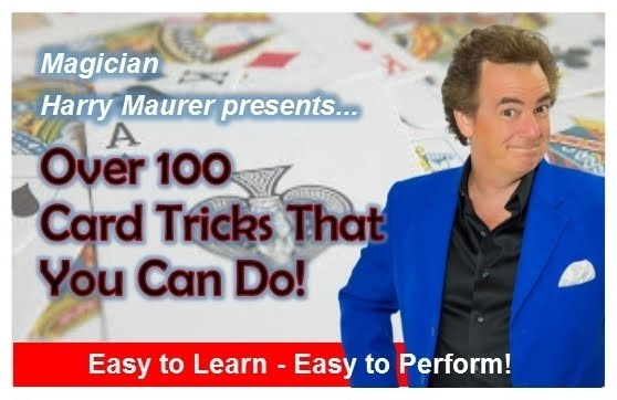 100 Card Tricks That You Can Do!