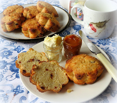 Honey and Date Scones