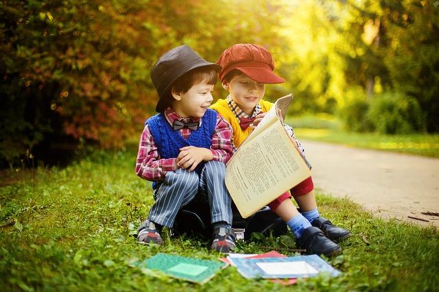 Criança também ensina