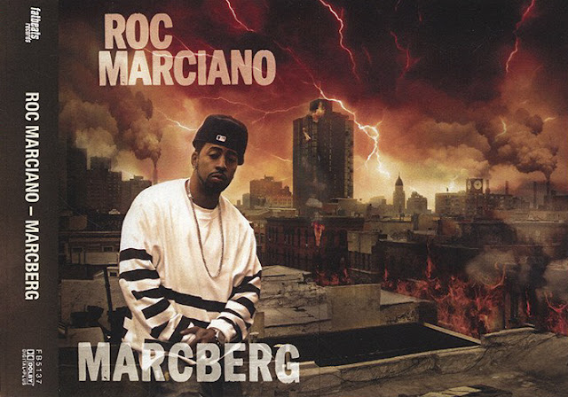 Roc Marciano Marcberg Cassette Fat Beats Artwork