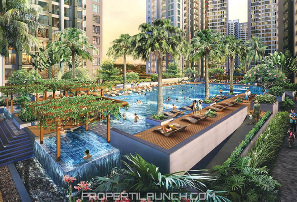 Kolam Renang Apartemen Serpong M-Town