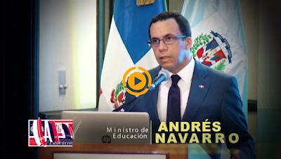 Navarro asegura evaluacion del desempeño docente ayudara a mejorar la calidad educativa