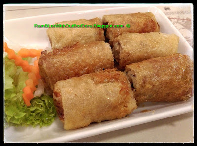 Fried spring rolls, Yummy Viet, Singapore