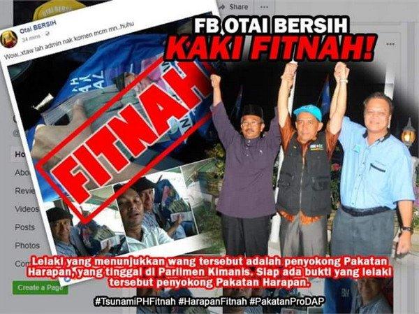 PRU14: Lagi #PHitnah Pakatan Terkantoi