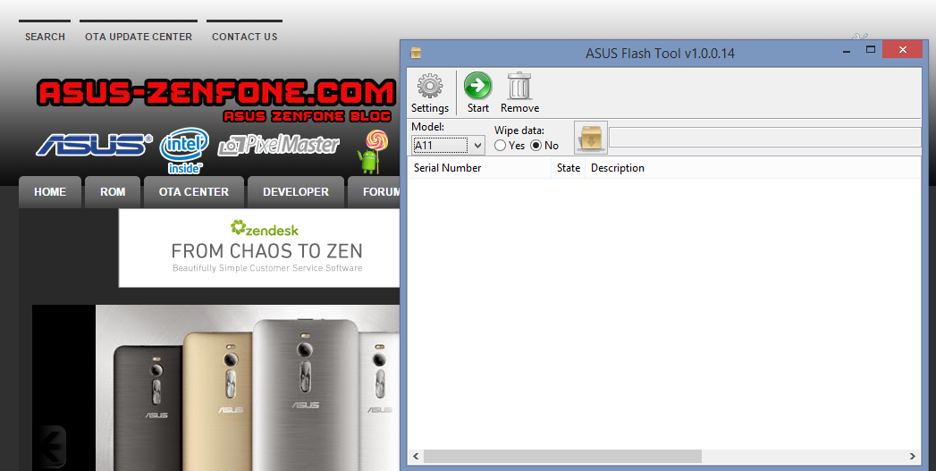 Download ASUS Flashtool 1 0 0 14 for Windows ~ Asus Zenfone Blog