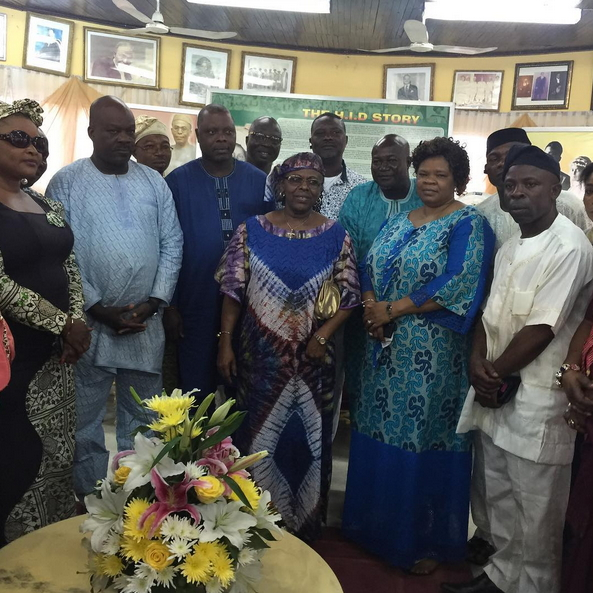 nollywood  yoruba stars awolowo family