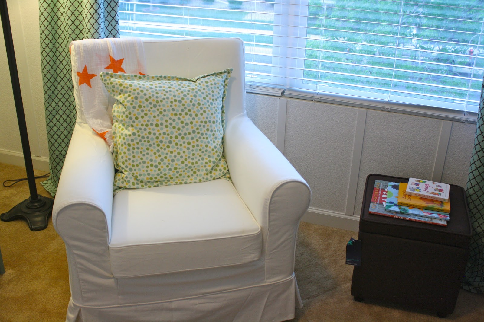 chairs for baby room office chair non rolling nursery in lieu of a glider