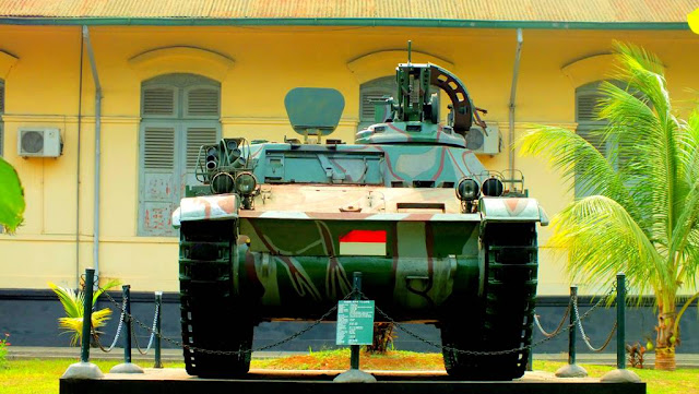 Old AMX 13 APC (Armored Personnel Carrier)
