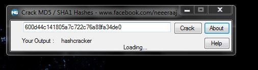password cracking online