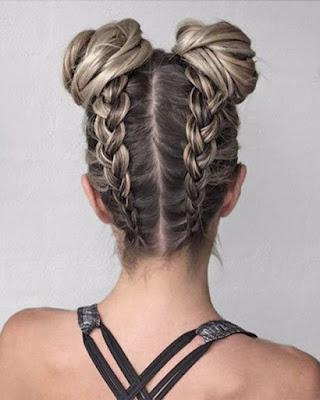 peinado para el gym