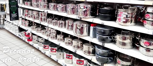 Tachos, panelas e frigideiras, qual a melhor ecolha