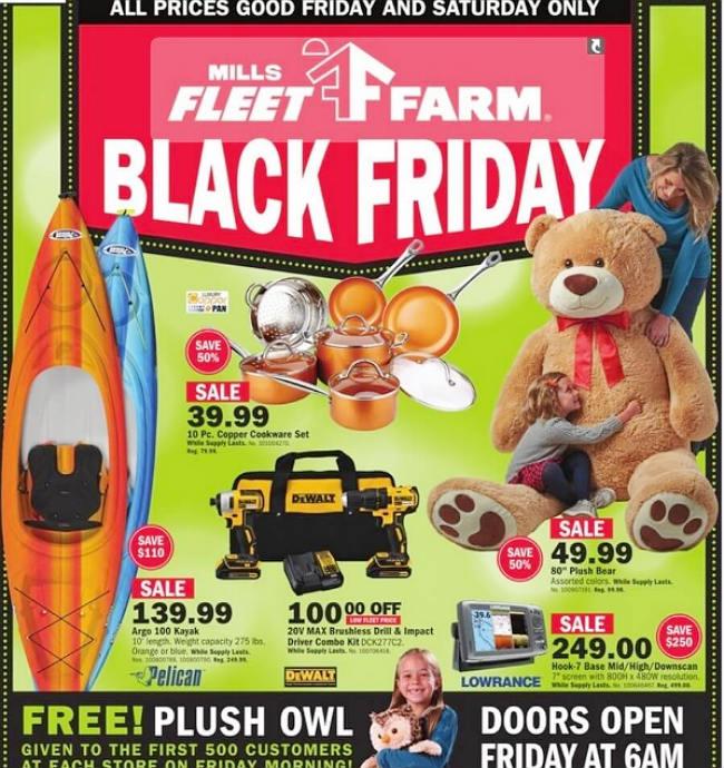 Mills Fleet Farm Black Friday 2017 Ad
