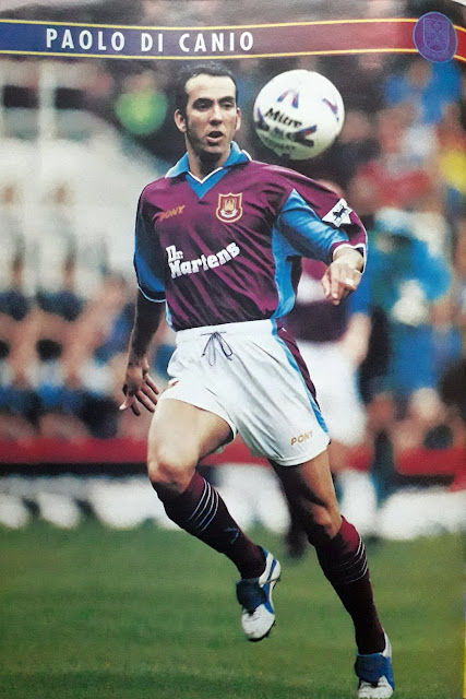 PIN UP PAOLO DI CANIO (WEST HAM UNITED)