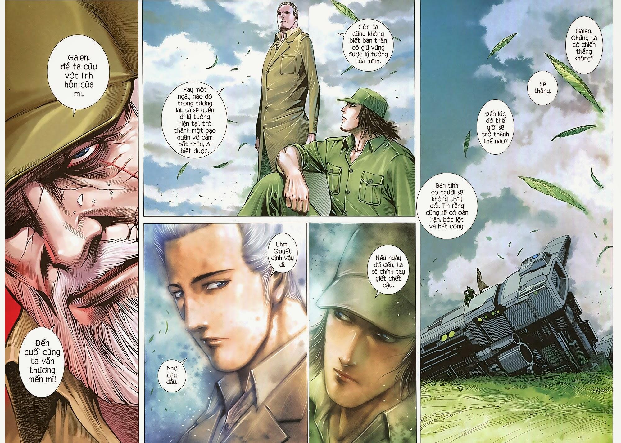 Đại Quân Phiệt chap 36: cuộc chiến cuối của castro trang 29