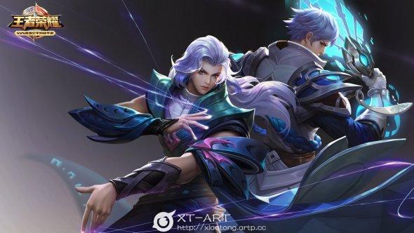 Exia Xiaotong artstation arte ilustrações fantasia games orientais