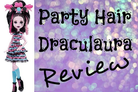 Party Hair Draculaura REVIEW!