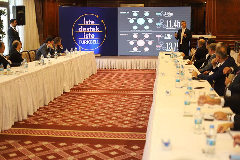Turkcell C-Lounge Dijital Dönüşüm Toplantısı