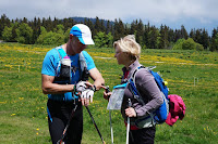 Reconnaissances des parcours ENW 2016 par Arja Jalkanen-Meyer et Roland Zede