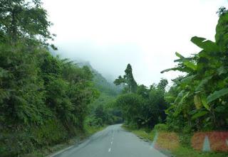 Carretera de Lao Cai a Bac Ha.