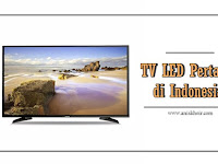 TV LED Pertama di Indonesia