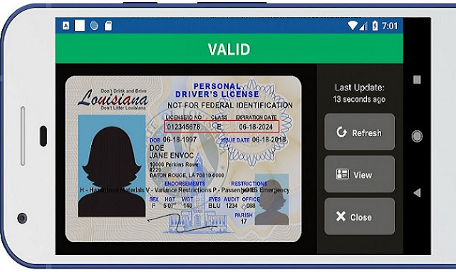 Google wants you to carry your driving license inside your mobile phone