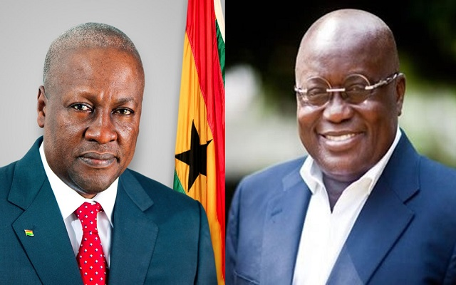 Ghana New poll puts Akufo-Addo ahead of Mahama