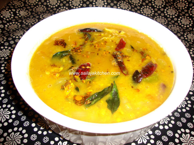images of Dosakaya (Yellow Cucumber) Pappu/DhalDosakaya Pappu Recipe / Yellow Cucumber Dal Recipe