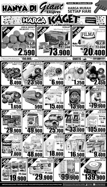 Katalog Harga Promo dan Diskon Giant EXPRESS