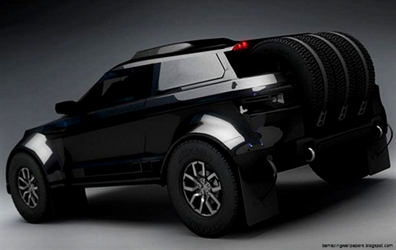 Range Rover Evoque Black 4 Door | Amazing Wallpapers