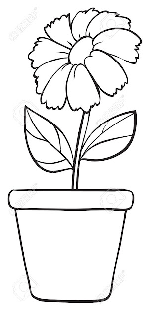 Simple Flower Stock Vector