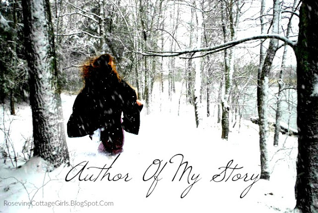 Author of my story, he is the author of my story, God is the author of my story, God is the author of my life, by Rosevine Cottage Girls, Image (c) Rosevine Cottage Girls