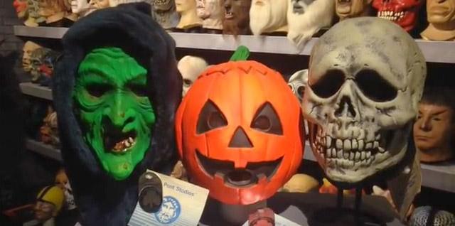 The Masks of Halloween III: The Crimson Ghost Mask Room   Blood ...