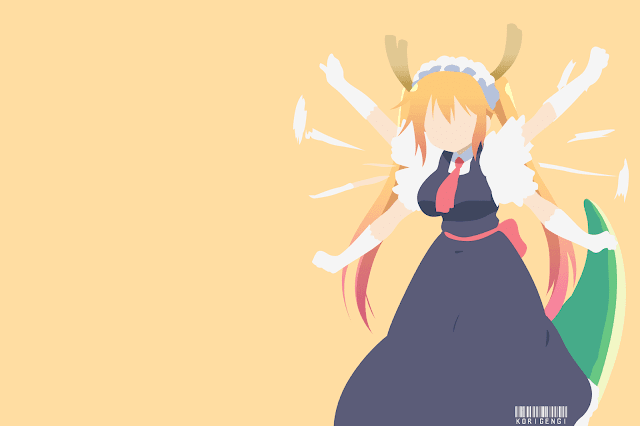 tohru maid dragon wallpaper