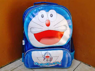 Tas Sekolah Model Ransel Gambar Doraemon