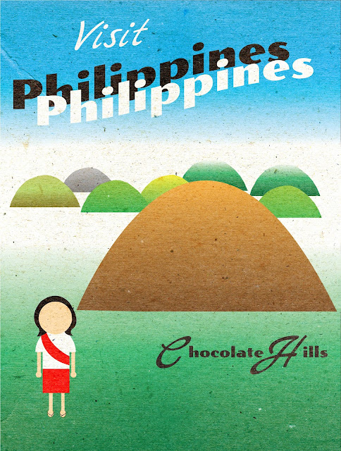 Travel poster philippines